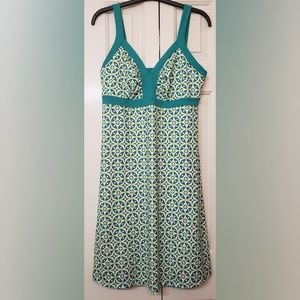 Patagonia Green/White Minette Dress L